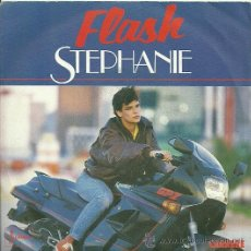 Discos de vinilo: STEPHANIE SINGLE SELLO CARRERE EDITADO EN FRANCIA AÑO 1986. Lote 30295552