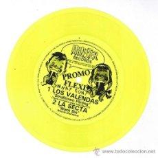 Discos de vinilo: LOS VALENDAS, LA SECTA PROMO FLEXI DISC. Lote 30303096
