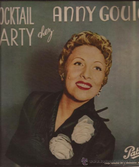 LP-25 CTMS-ANNIE GOULD-PATHE 1005-EDIC.ESPAÑOLA-195??? (Música - Discos - LP Vinilo - Canción Francesa e Italiana)