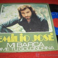 """Discos de vinilo: EMILIO JOSE MI BARCA/DIME TU GOLONDRINA 7"""" SINGLE 1975 BELTER. Lote 30304019"""