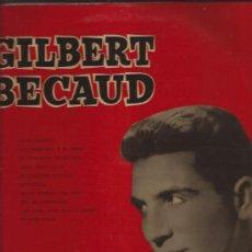 Discos de vinilo: LP-25 CTMS-GILBERT BECAUD-VOZ DE SU...1036-EDIC.ESPAÑOLA-195???-. Lote 30304641