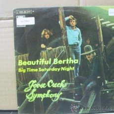 Discos de vinilo: GOOSE CREEK SYMPHONY - BEAUTIFUL BERTHA / BIG TIME SATURDAY NIGHT - EDICION ESPAÑOLA - EMI 1970. Lote 30305865