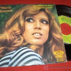 """Discos de vinilo: MARIA JIMENEZ TE DOY UNA CANCION/CON GOLPES DE PECHO 7"""" SINGLE 1976 MOVIEPLAY. Lote 30307541"""