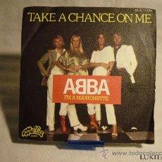Discos de vinilo: ABBA - TAKE A CHANCE ON ME. Lote 30307564