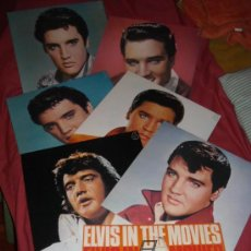 Discos de vinilo: ELVIS PRESLEY GREATEST HITS 7 LP BOX READER'S DIGEST CON LIBRETO LA CONTRAPORTA FORMA POSTER. Lote 30308616