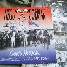 Discos de vinilo: NEGU GORRIAK GORA HERRIA. Lote 30313032