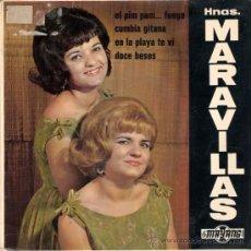 Discos de vinilo: HERMANAS MARAVILLAS - EL PIM PAM... FUEGO + 3 (EP DE 4 CANCIONES) MAYANG 1967 - VG++/VG++. Lote 30316287