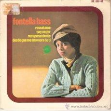 Discos de vinilo: FONTELLA BASS - RESCUE ME + 3 (EP DE 4 CANCIONES) HISPAVOX 1966 - VG++/VG++. Lote 30316424