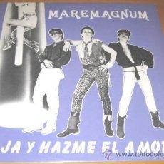 Discos de vinilo: MAREMAGNUM - BAJA Y HAZME EL AMOR - MX - ACUARIO 1984 SPAIN A 015 - LA MOVIDA - N MINT. Lote 30317933