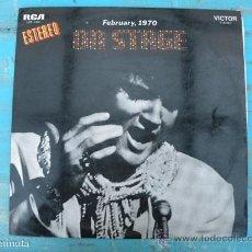 Discos de vinilo: ANTIGUO DISCO DE VINILO DE ELVIS PRESLEY - ON STAGE - FEBRUARY 1970 - RCA STEREO - EN D. Lote 30322788
