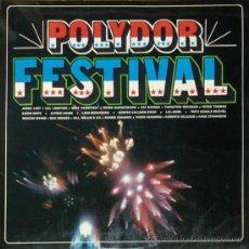 Discos de vinilo: VARIOS – POLYDOR FESTIVAL 2 × VINYL, LP, COMPILATION .LAST..LINDFORZS..MELLIS....DELGADO..STRANGERS. Lote 30323045