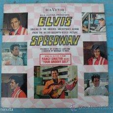 Discos de vinilo: ANTIGUO DISCO LP DE VINILO DE ELVIS PRESLEY - SPEEDWAY - MGM RCA VICTOR - AÑO 1968 - EN . Lote 30323171