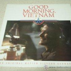 Discos de vinilo: ' GOOD MORNING VIETNAM ' ENGLAND - 1988 LP33 A&M RECORDS. Lote 217166213