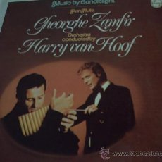 Discos de vinilo: GHEORGHE ZAMFIR - - PAN FLAUTE - MUSIC BY CANDLELIGHT - LP PEPETO RECORDS. Lote 114145170