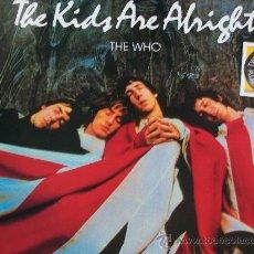 Discos de vinilo: THE WHO,THE KIDS ARE ALRIGHT EDICION ESPAÑOLA DEL 79 2 LP + LIBRETO. Lote 30353368