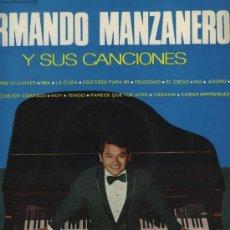 Discos de vinilo: ARMANDO MANZANERO Y SUS CANCIONES. Lote 30357616