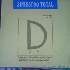 Discos de vinilo: SINIESTRO TOTAL GRANDES EXITOS. Lote 30373527