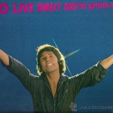 Discos de vinilo: RAPHAEL EN DIRECTO LP DOBLE (2 DISCOS) SELLO HISPAVOX AÑO 1980 EDICCIÓN ESPAÑOLA. Lote 30383378