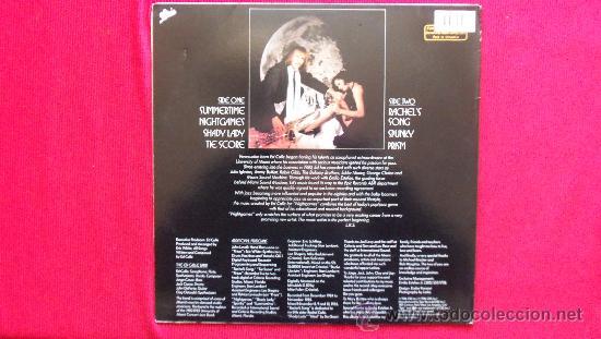 Discos de vinilo: ED CALLE - NIGHTGAMES - DISCO MUY RARO - Foto 2 - 30394070
