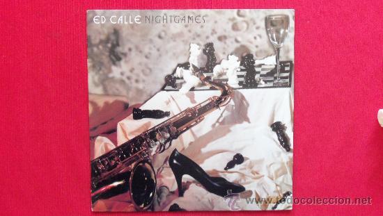 ED CALLE - NIGHTGAMES - DISCO MUY RARO (Música - Discos - LP Vinilo - Jazz, Jazz-Rock, Blues y R&B)