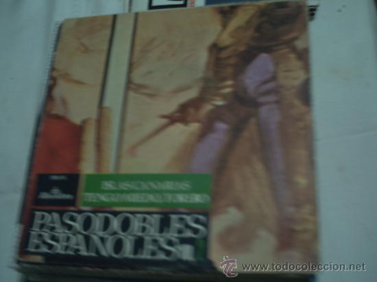 PASODOBLES ESPAÑOLES- ISLAS CANARIAS -TENGO MIEDO TORERO PEPETO (Música - Discos - Singles Vinilo - Flamenco, Canción española y Cuplé)