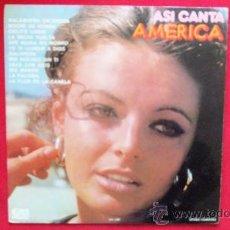 Discos de vinilo: ASI CANTA AMERICA - VARIOS GRUPOS. Lote 49879093