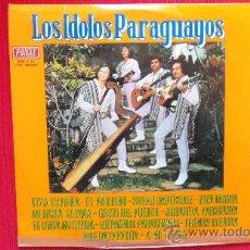 Discos de vinilo: LOS IDOLOS PARAGUAYOS. Lote 30713037