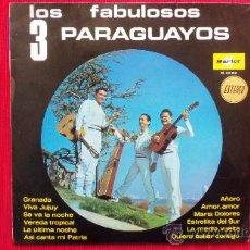 Discos de vinilo: LOS FABULOSOS 3 PARAGUAYOS. Lote 30816606