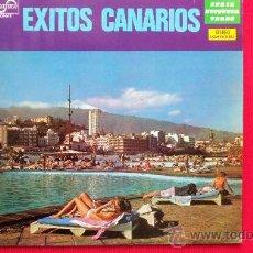 Discos de vinilo: EXITOS CANARIOS - VARIOS GRUPOS. Lote 30817400