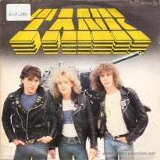 Discos de vinilo: TANK - DON´T WALK AWAY / SHELLSHOCK / HAMMER ON (45 RPM) CHAPA 1981 - PROMO! - VG++/EX. Lote 30400865