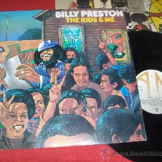 Discos de vinilo: BILLY PRESTON THE KIDS AND ME LP 1974 A&M EDICION ESPAÑOLA. Lote 30634499