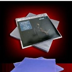 Discos de vinilo: 10 FUNDAS PVC BILLANTE PARA DISCOS DE VINILO LP Y 12 PULGADAS MAXI-SINGLES. Lote 196048900