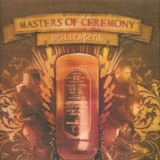 Discos de vinilo: MAXI MASTERS OF CEREMONY : BOTTOMS UP . Lote 30439930