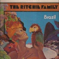 Disques de vinyle: RITCHIE FAMILY BRAZIL. Lote 30441497