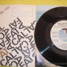Discos de vinilo: TETE MONTOLIU TRIO - EP- ON THE GREEN DOLPHIN STREET + 3 - RARE UNIQUE SPAIN ED PROMO ONLY. Lote 30452205
