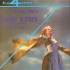 Discos de vinilo: LP RONNIE ALDRICH - LOS MAGNIFICOS PIANOS - PHASE 4 STEREO SPECTACULAR . Lote 30457804