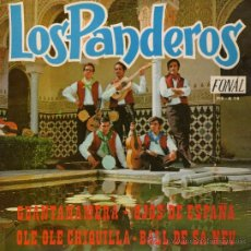 """Discos de vinilo: LOS PANDEROS - EP SINGLE VINILO 7"""" - EDITADO EN ESPAÑA - GUANTANAMERA + 3 - FONAL 1971. Lote 30458024"""