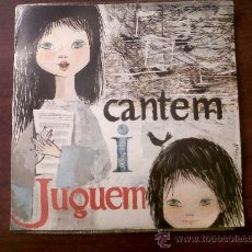 Discos de vinilo: SINGLE CANTEM I JUGUEM-EDIPHONE SERIE ESPECIAL EDIGSA 1962. Lote 30458889