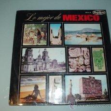 Discos de vinilo: DISCO VINILO. LO MEJOR DE MEXICO. 1965 PEERLESS. HISPAVOX. Lote 30459213