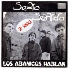Discos de vinilo: SEXTO SENTIDO - LOS ABANICOS HABLAN - SN SPAIN 1989 - HISPAMUSIC 01.00008. Lote 183867978