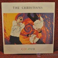 Discos de vinilo: THE CHRISTIANS - COLOUR (AUTOGRAFIADO). Lote 30469064