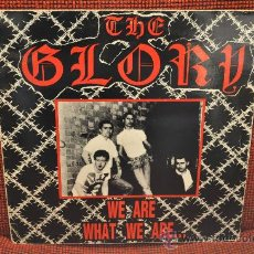 Discos de vinilo: THE GLORY - WE ARE WHAT WE ARE.... Lote 30476535