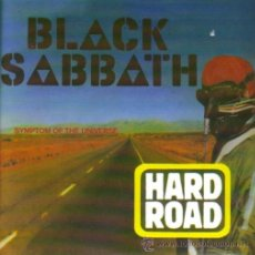 Discos de vinilo: BLACK SABBATH-HARD ROAD + SYMPTOM OF THE UNIVERSE SINGLE 2004. Lote 30488899