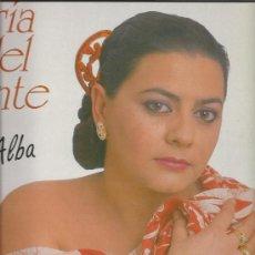 Discos de vinilo: 3323-LP MARIA DEL MONTE- AL ALBA-HORUS. Lote 30496345