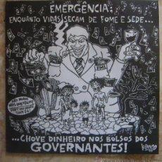 Discos de vinilo: EMERGENCIA: ENQUANTO VIDAS SECAM DE FOME E SEDE (1999) SUPER RARO LP DE PUNK/HC BRASILEÑO!!!. Lote 30526198