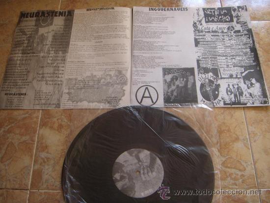 Discos de vinilo: EMERGENCIA: ENQUANTO VIDAS SECAM DE FOME E SEDE (1999) Super raro LP de punk/HC brasileño!!! - Foto 3 - 30526198