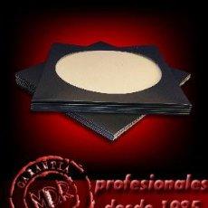 Discos de vinilo: 10 FUNDAS DE CARTON NEGRO PARA PICTURE DISC LP Y MAXI. Lote 114766194
