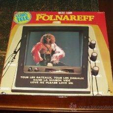 Discos de vinilo: MICHEL POLNAREFF DOBLE LP SUPER STARS. Lote 30512277