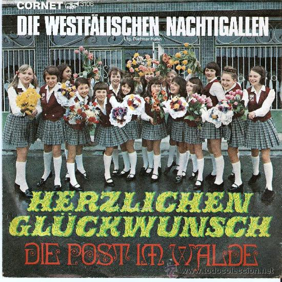 DIE WESTFÄLÍSCHEN NACHTIGALLEN (Música - Discos - Singles Vinilo - Cantautores Extranjeros)