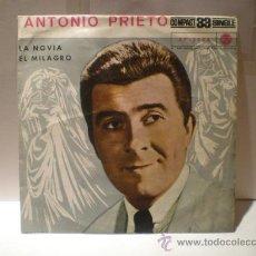 Discos de vinilo: SINGLE DE ANTONIO PRIETO. Lote 30586957
